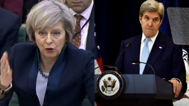 Downing Street criticises US comments on Israel